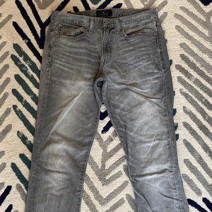 Lucky Brand Gray 121 Heritage Slim Jeans